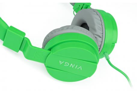 Наушники Vinga HSM035 Green New Mobile (HSM035GR)