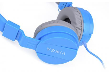 Навушники Vinga HSM035 Blue New Mobile (HSM035BL)