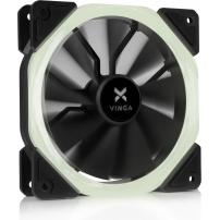 Кулер до корпусу Vinga LED fan-01 white